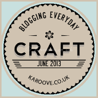 craft blog every day in June
