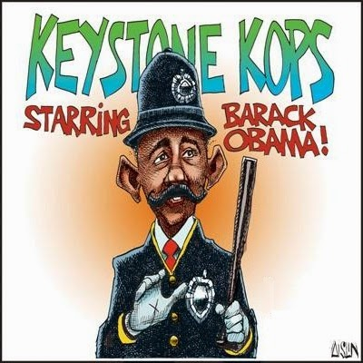 Aislin: Keystone Kops.