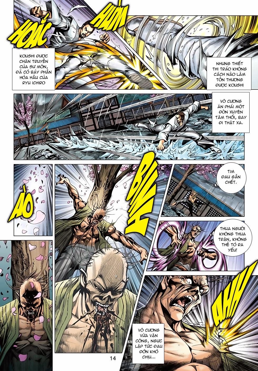 Tân Tác Long Hổ Môn chap 643 - Trang 14
