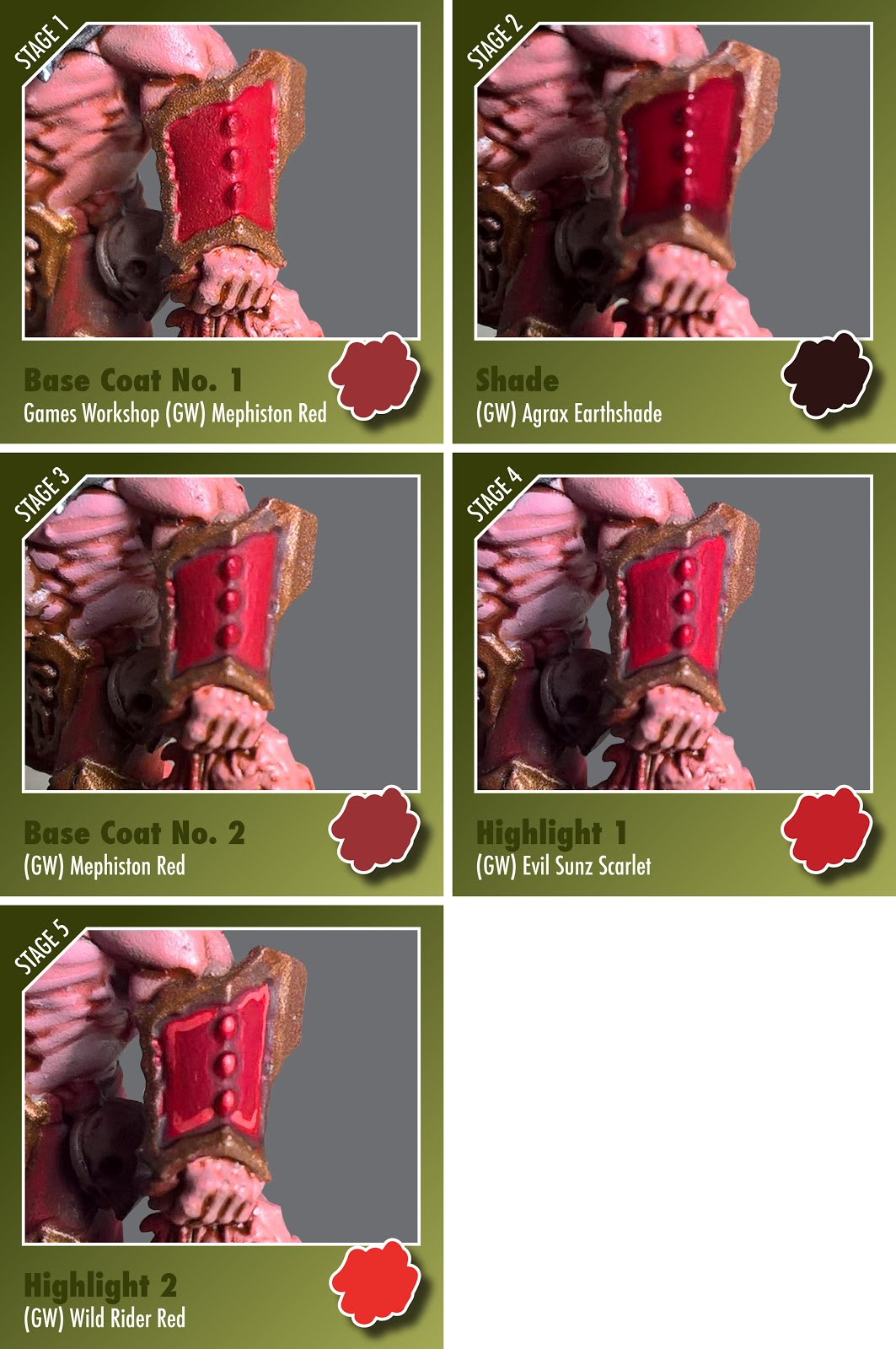 noobs and their paintbrush stage by stage guide to painting red rh noobsandtheirpaintbrush blogspot com games workshop hobbit painting guide games workshop hobbit painting guide