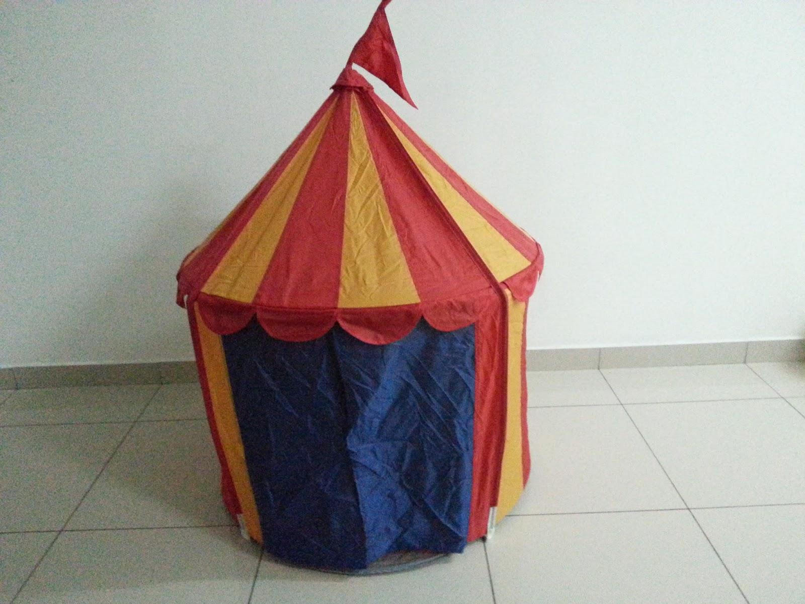 IKEA Circus Tent @ RM49.90 & Sugary Spice u0026 Everything Nice: IKEA Busa Play Tunnel u0026 Cirkustalt ...