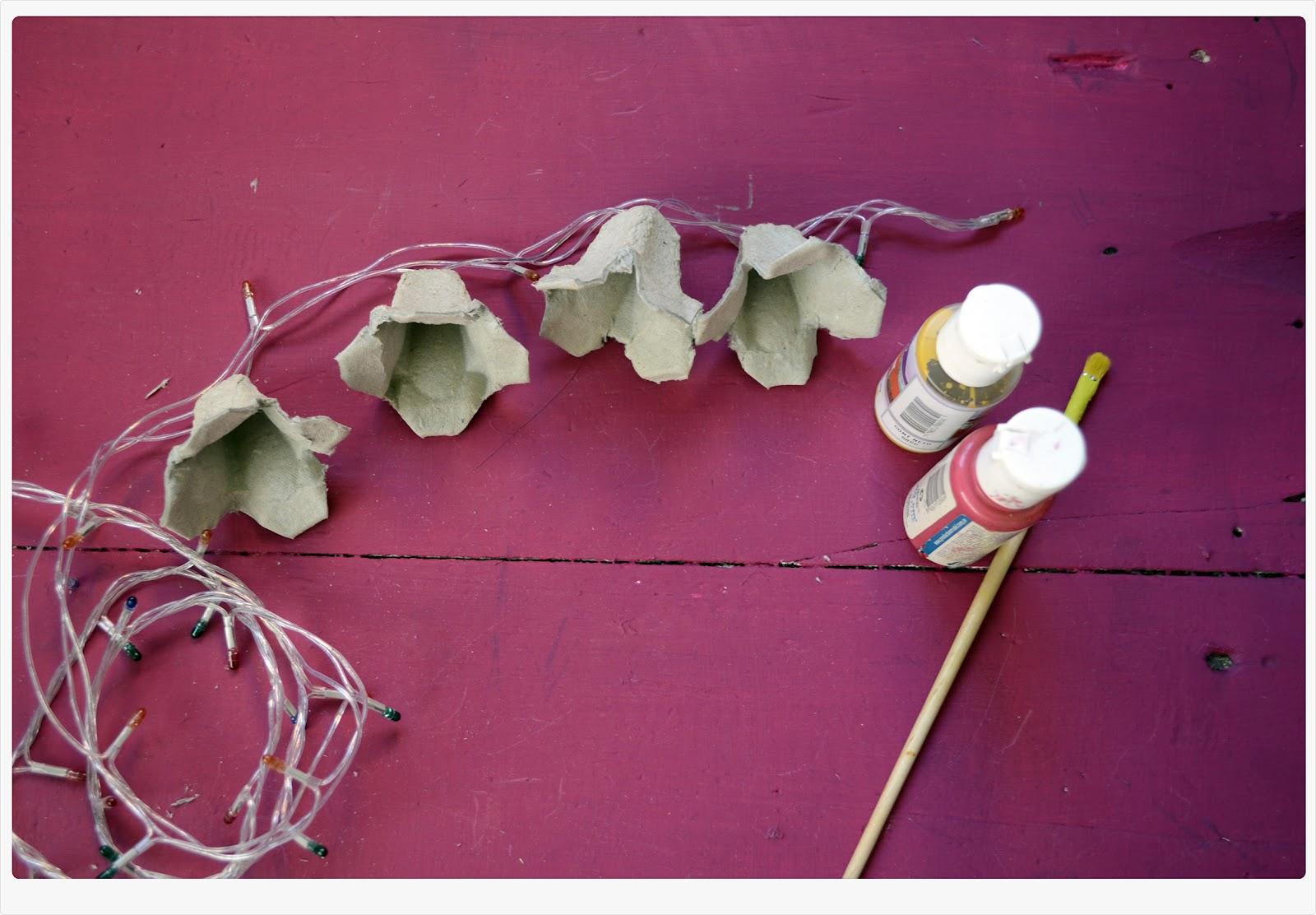 El blog de kyoko tutorial lucecitas y flores - Lucecitas de navidad ...