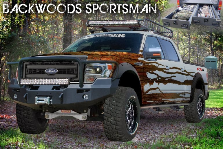 Ford Shows Off Customized Trucks at SEMA 2013