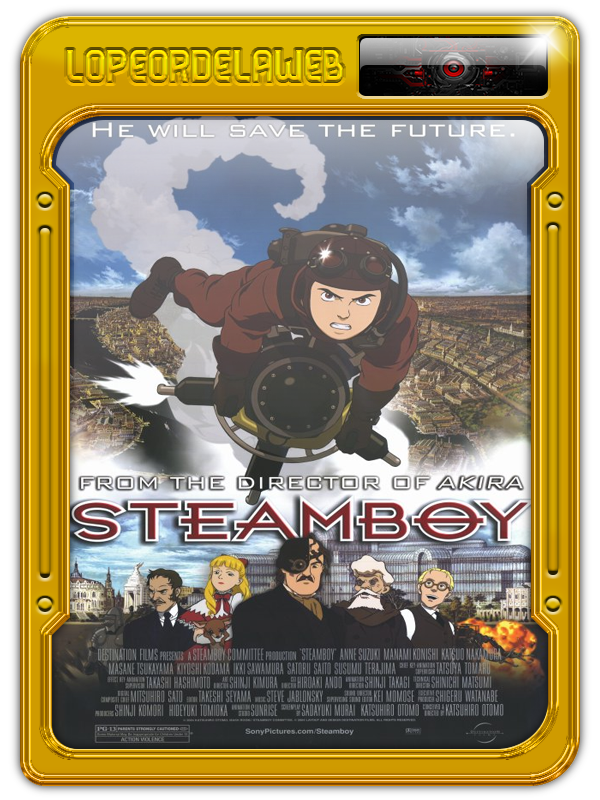Suchîmubôi (Steamboy) (2004) [BrRip-720p-Dual-Mega]