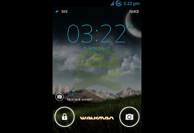 ( Rom ICS ) Real ICS R6 mini/ mini pro / active / Live With Walkman