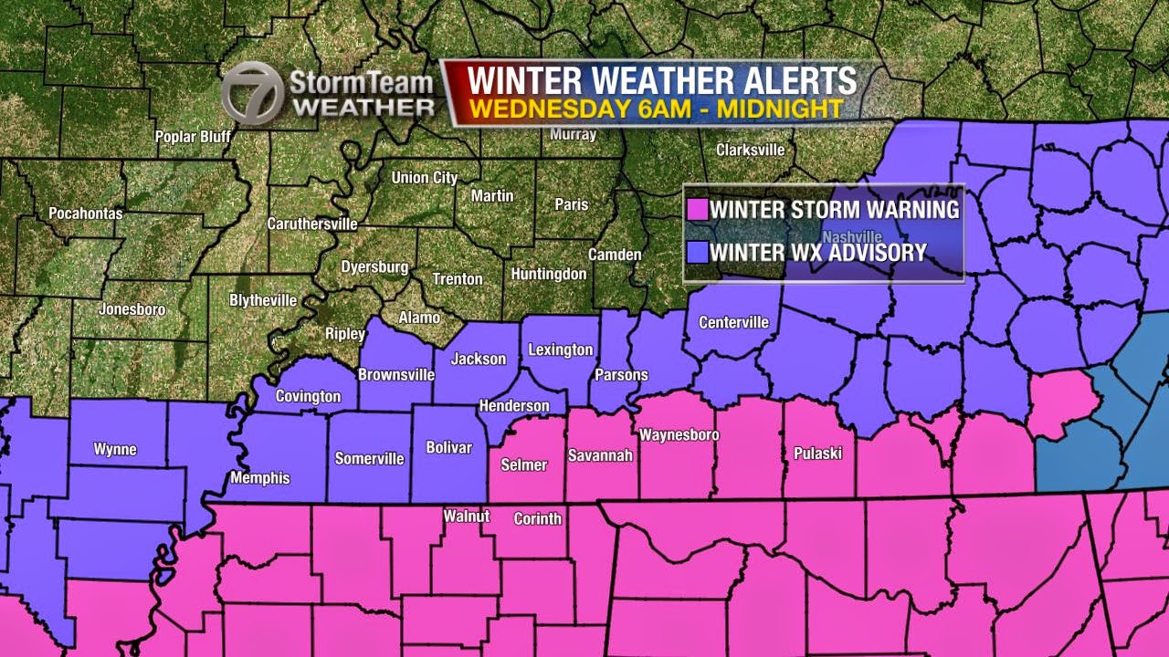 another round of winter weather coming wednesday