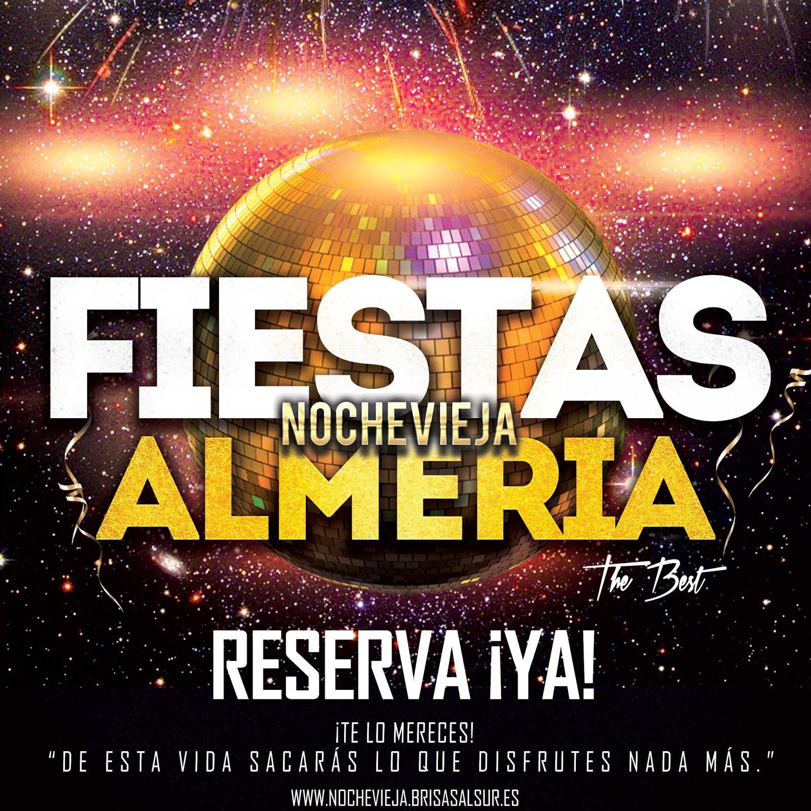 Fiestas de Nochevieja Almería. Las mejores ofertas para Fin de Año, Nochevieja 2014 y Año Nuevo 2015