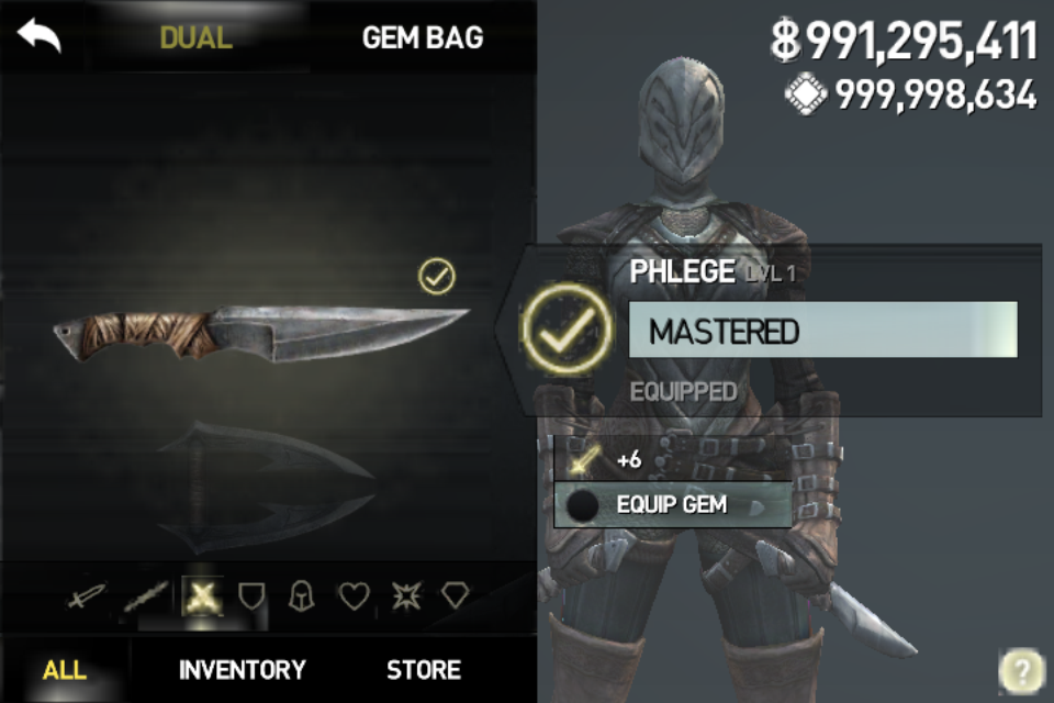 HACK] Infinity Blade III Unlimited Gems Unlimited Money v1.0.1