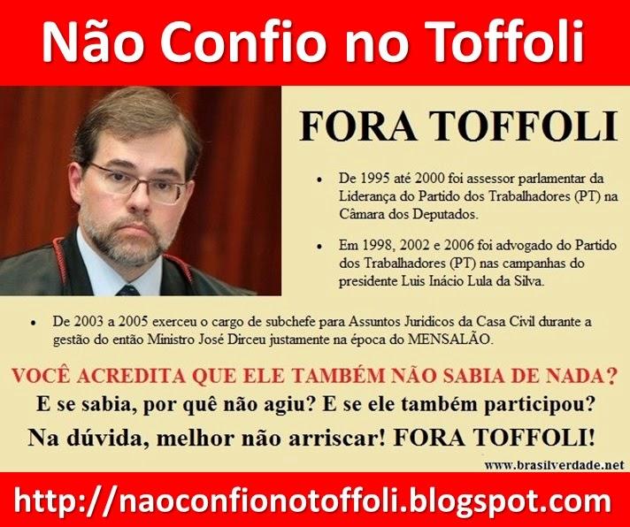 Não Confio no Tofolli