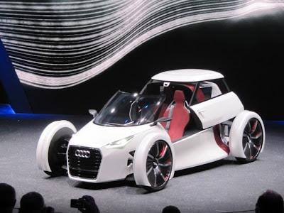 Frankfurt Auto Show 2011 Audi Urban Concept