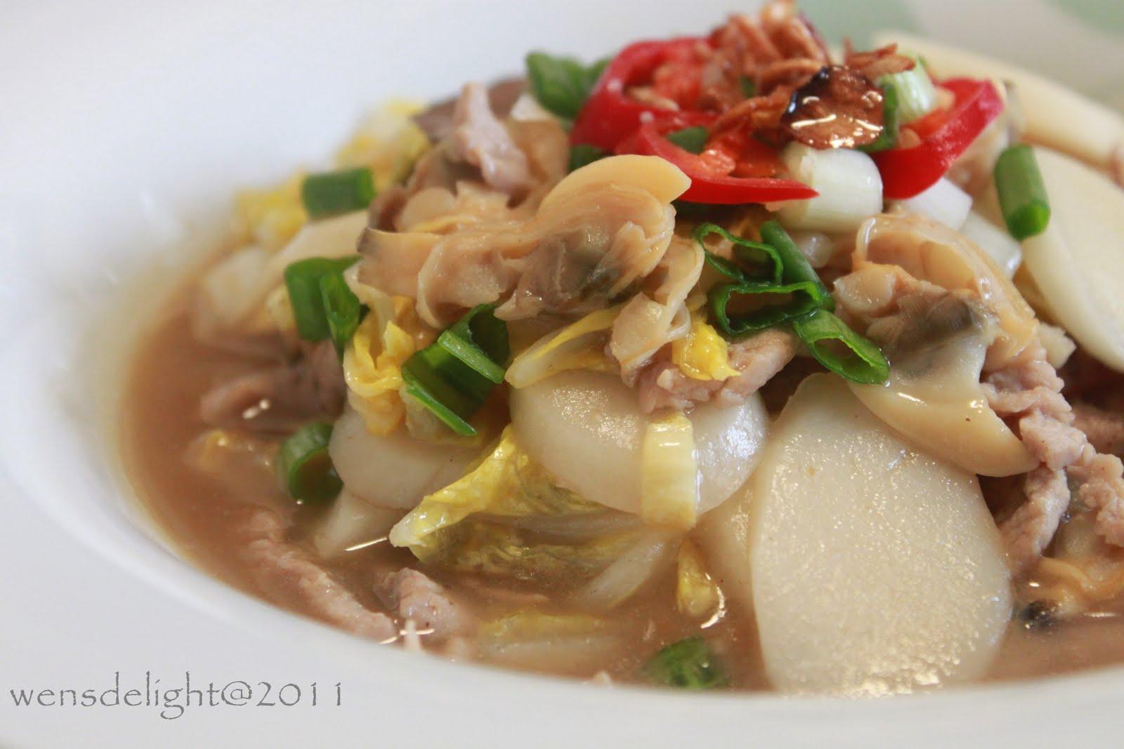 Wen S Delight Stir Fry Korean Sliced Rice Cake