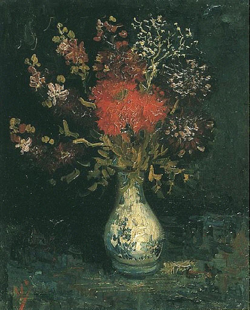 Art Artists Vincent Van Gogh Flowers Part 1
