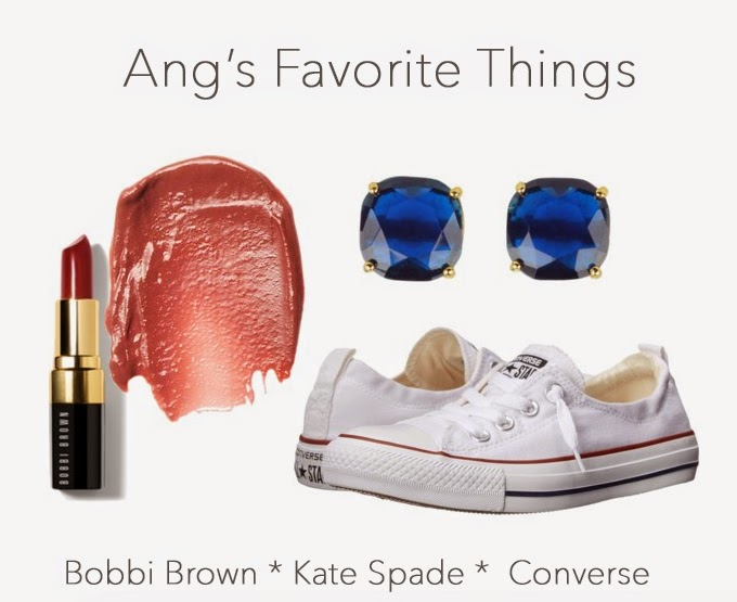 Bobbi Brown, Italian Rose, Converse Shoreline, Kate Spade Stud Earrings