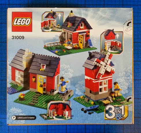 LEGO Creator set 31009 Small Cottage 3 in 1 build review