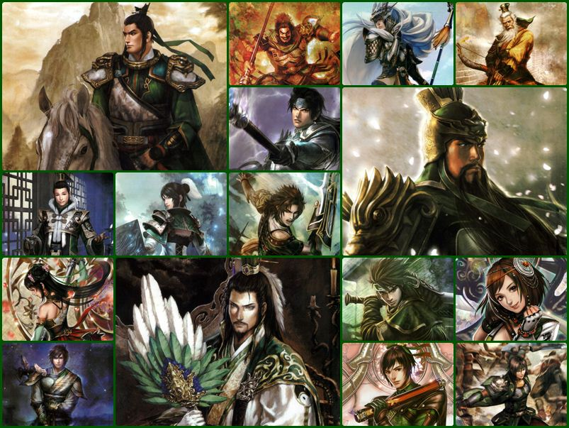 Dynasty Warriors 8 Artworks - จ๊กก๊ก