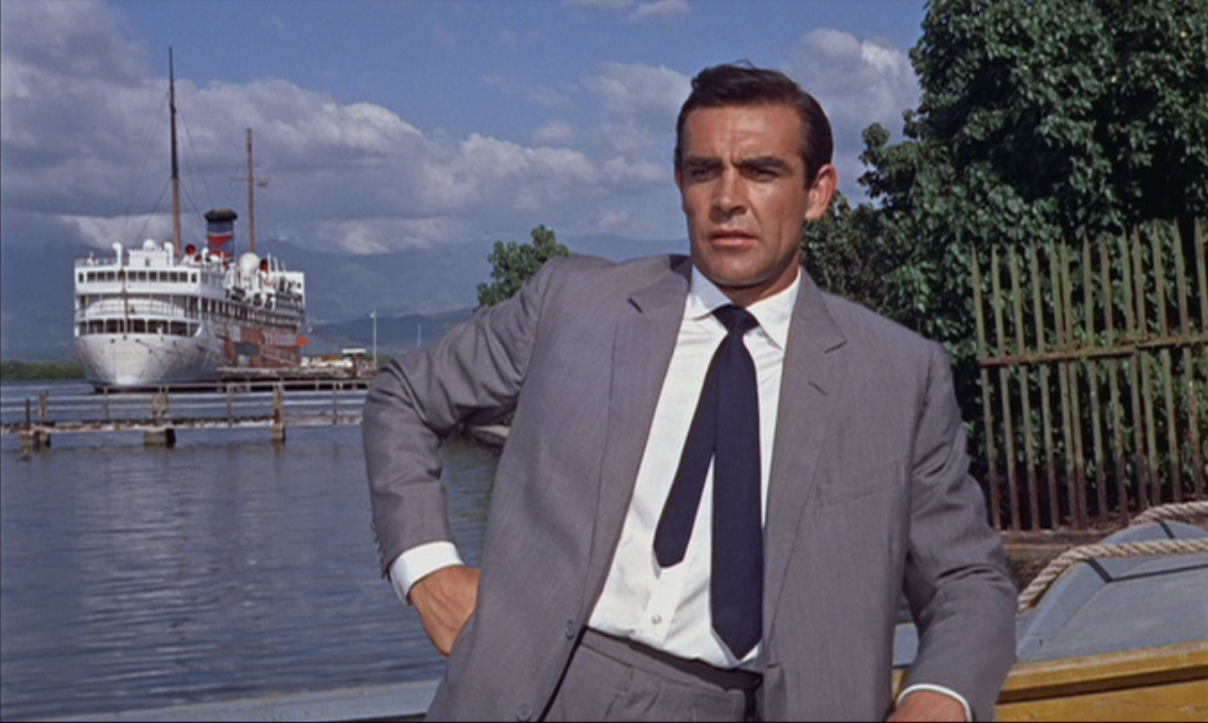The basic summer suit has changed very little since Sean Connery wore it to ...