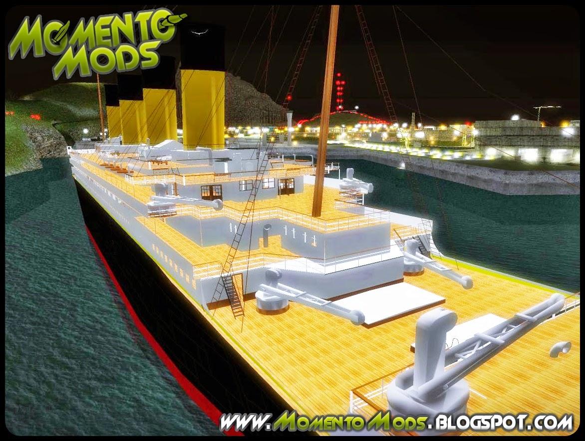 GTA SA - Navio RMS Titanic