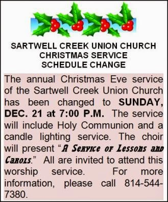 12-21 Sartwell Creek Lessons & Carols