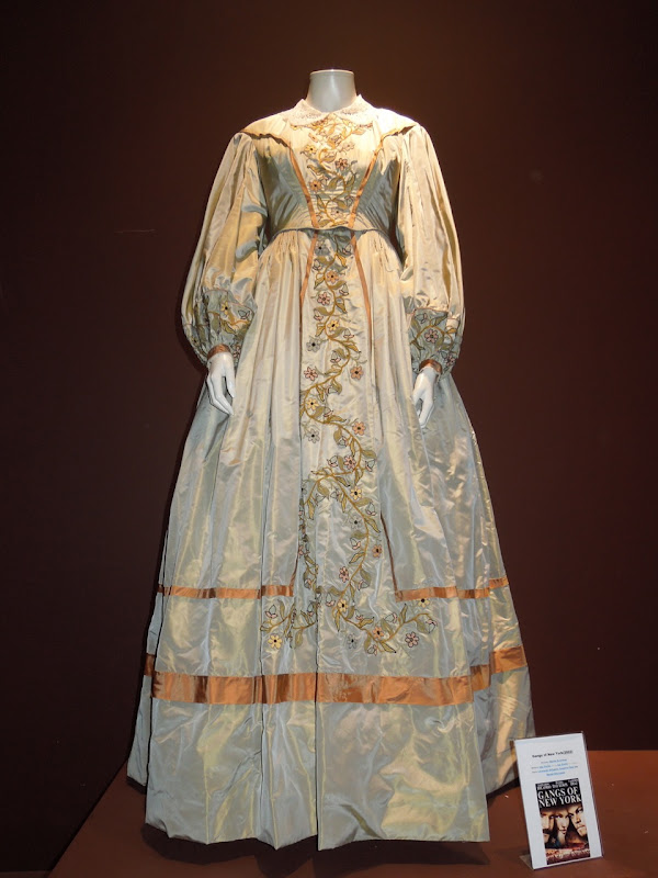 Gangs of New York movie gown
