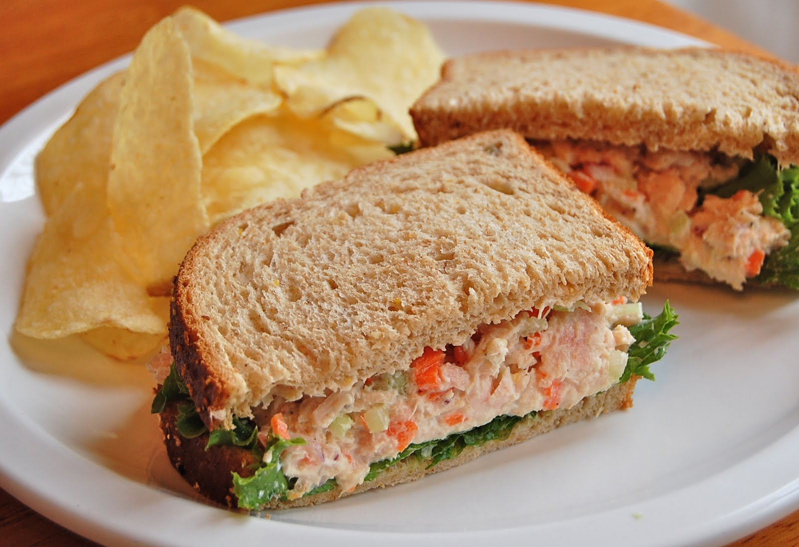 Tuna Salad Sandwich Recipe Tuna salad