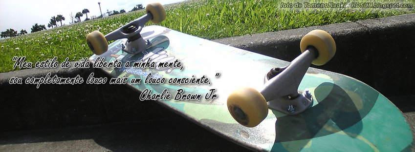 Capas para facebook Charlie Brown Jr #2
