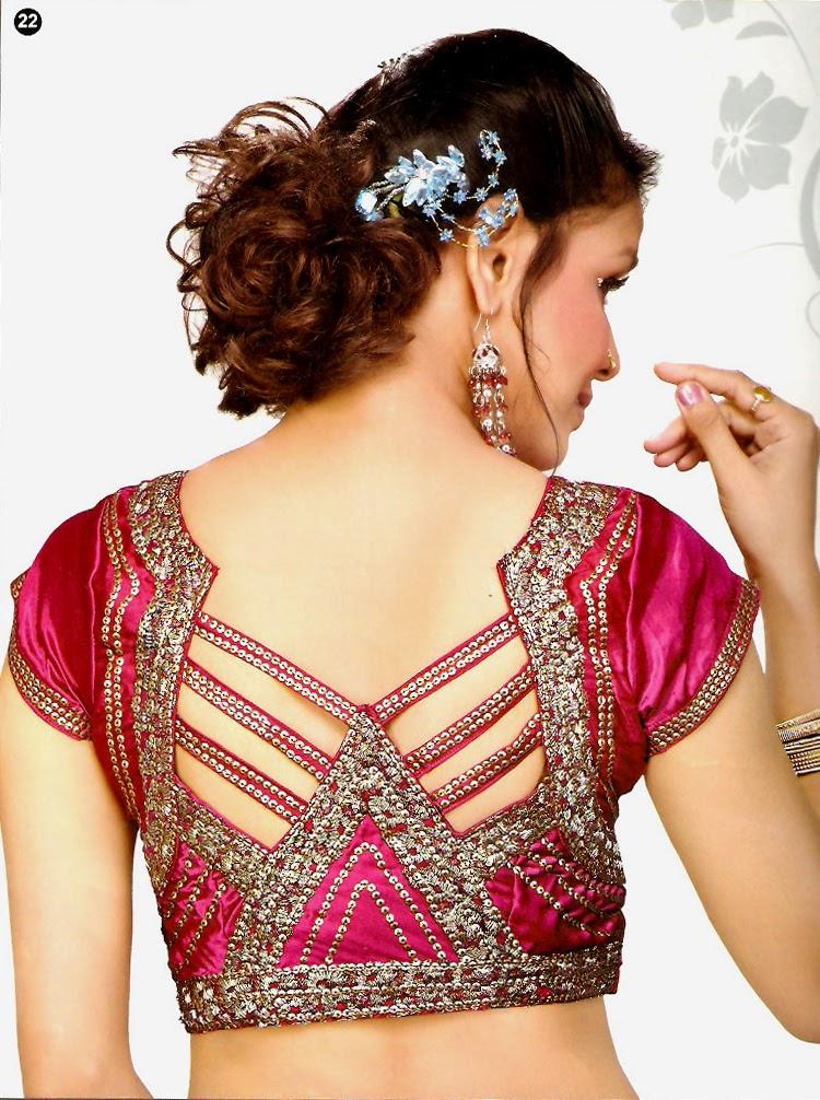 Best Blouse Back Designs 35