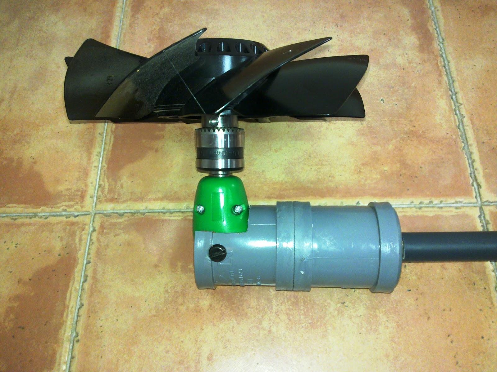 El blog de carcharinus motor casero para kayak for Como hacer un criadero de peces casero
