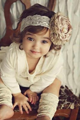 Sweet Lovely Girl Kid
