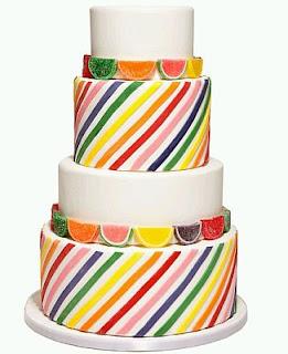 Tortas de Boda Multicolor, parte 2