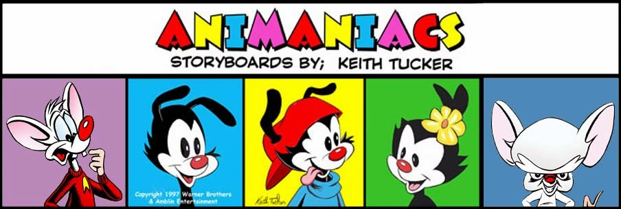 Animaniacs storyboards
