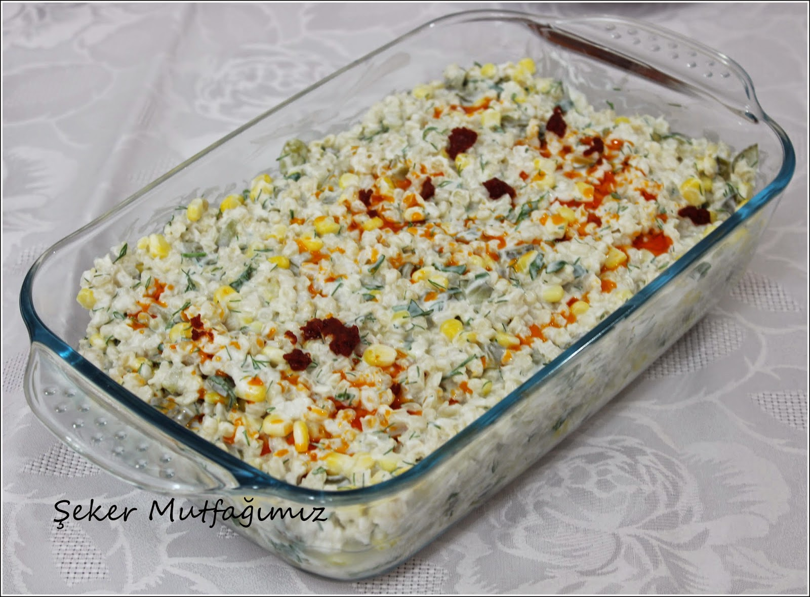 Yoğurtlu Buğday Salatası Tarifi – Salata Tarifleri