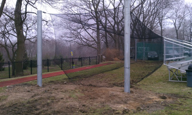 new outdoor batting cage north shore country day school athletics