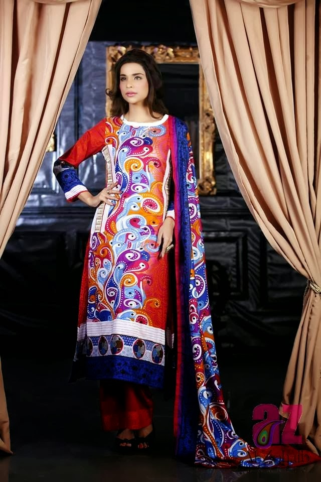 Anum Classic Lawn Collection 2014