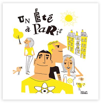 Illustration Alex Formika, un été à Paris