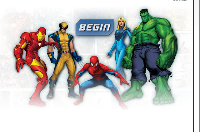 Create your own Marvel superhero