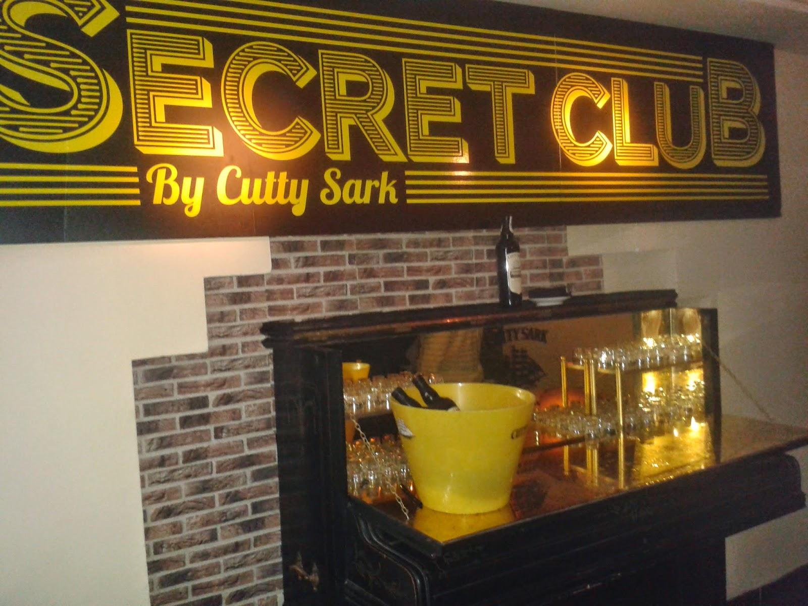 Secret Club by Cutty Sark. El Tapeador.