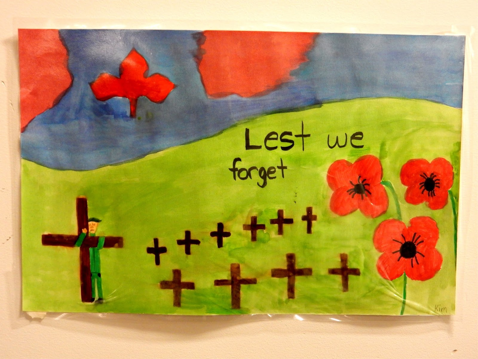 the pocket remembrance day 2015