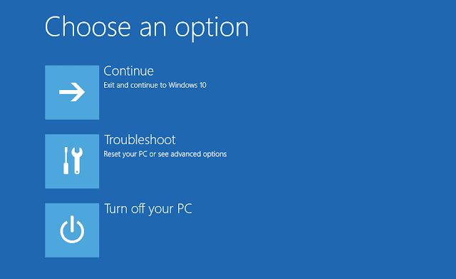 Reset Windows 10 From Login Screen if you have Problems Logging Into Desktop