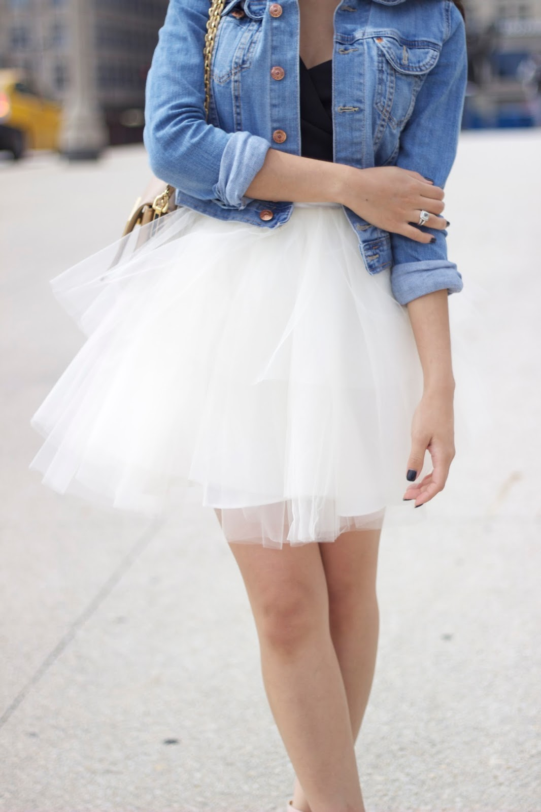 Tulle skirts, tutu skirts, fashion blogger, melba nguyen, tulle skirt pairing, fendi purse , styling skirts