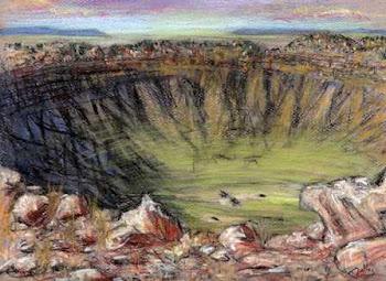 """Meteor Crater, Arizona"""