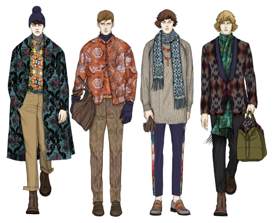 Go back gt gallery for gt fashion illustrations menswear