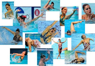 Imágenes de ejercicios de Andrea Fuentes