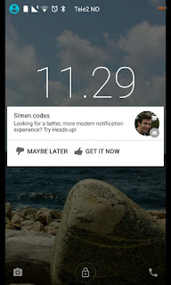 Miliki Notifikasi Ala Android Lolipop Di Smartphone Anda Dengan Aplikasi Heads-up