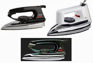 Usha Ei 2802 Iron worth Rs.795 for Rs.370 | Bajaj Dry Iron Dx 2 worth Rs.595 for Rs.394 | Bajaj Popular Iron worth Rs.595 for Rs.415 Only