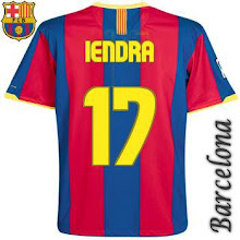 My Jersey on Barcelona