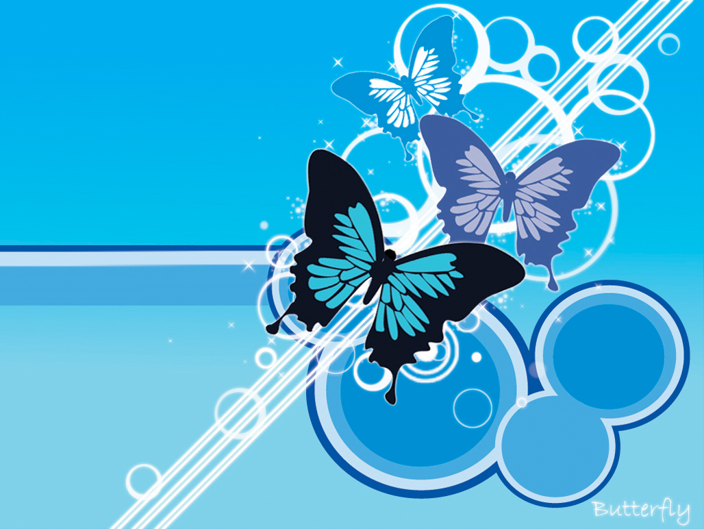 vector butterfly wallpaper
