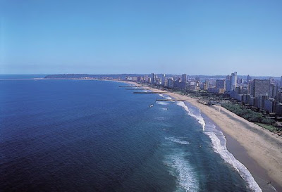 Durban beaches, South Africa