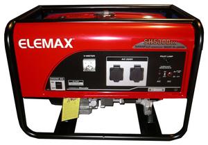 Genset Elemax SH 5300 EX - Jual Elemax SH 5300 EX Bekasi
