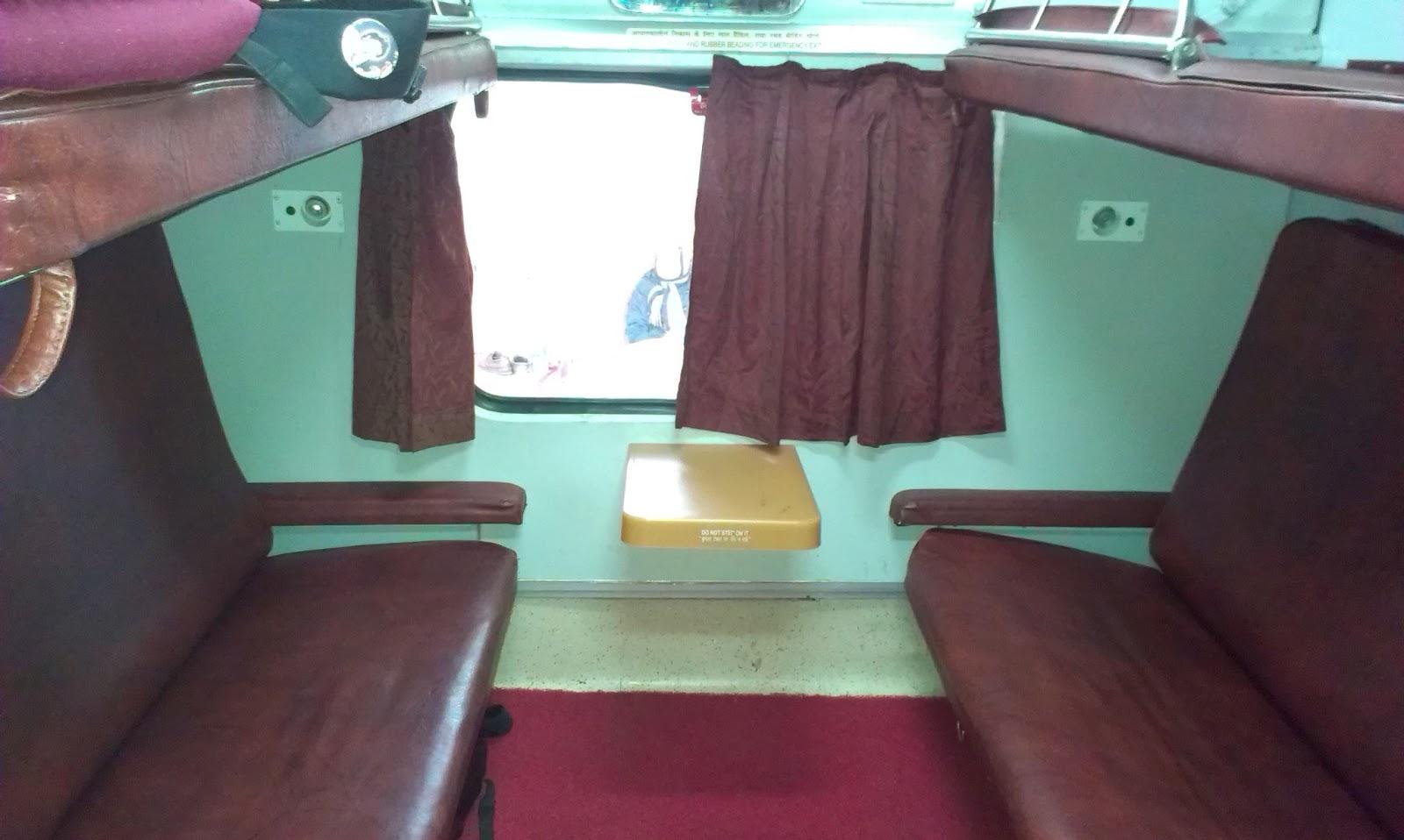 The First Ac Rajdhani Express