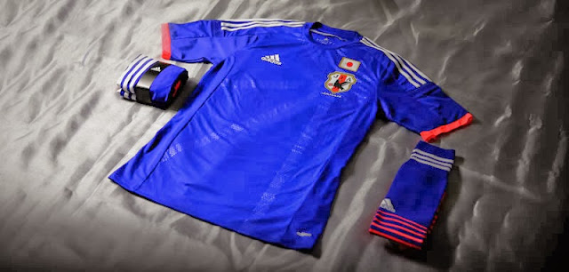adidas presents the Japanese federation kit for 2014 FIFA World Cup